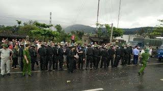 Người biểu tình ở Hà Tĩnh bị dọa tù tội