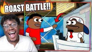 FUNNIEST ROAST BATTLE EVER! | TutWeezy - Customers be like (feat. Reggie Couz) Reaction!