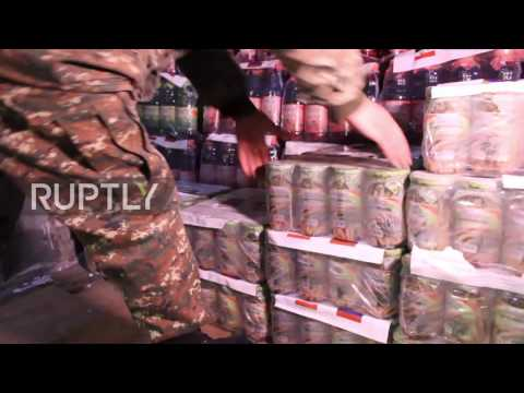 Armenia: Russian planes deliver humanitarian aid to Syria