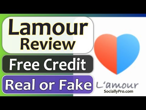 Lamour App Review - Free Credit - Is It Real Or Fake?