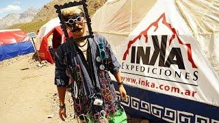 「Aconcagua Day 4/23」アコンカグアへ 登山開始。Confluencia コンフルエンシア 3400m ◆着用メガネ「額」エベレストに行ってきます!501/1000 16/1/20