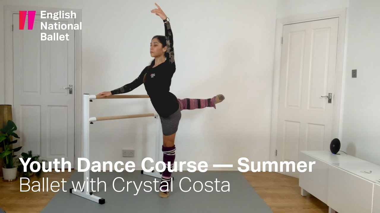 Youth Dance Summer Intensive: Ballet with Crystal Costa | English National Ballet