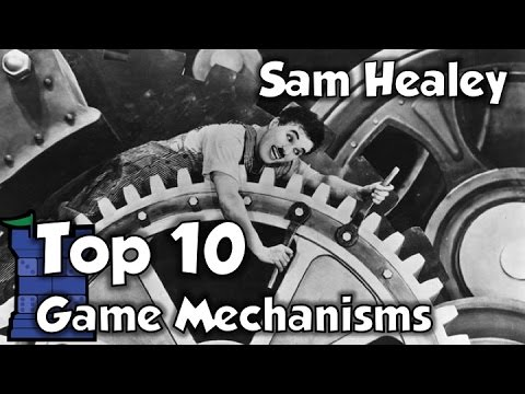 Top 10 Game Mechanisms - with Sam Healey