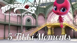 MIRACULOUS MOMENTS | 🐞TOP 5 TIKKI 🐞 | Tales of Ladybug and Cat Noir