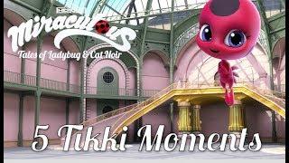 MIRACULOUS MOMENTS | 🐞TOP 5 TIKKI 🐞 | Tales of Ladybug and Cat Noir