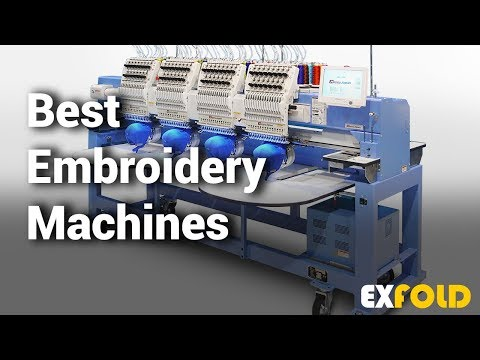 10 Best Embroidery Machines With Reviews & Details  - Which Is The Best Embroidery Machine?