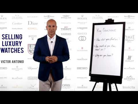 Retail Sales Training - Selling Luxury Watches - Part 3