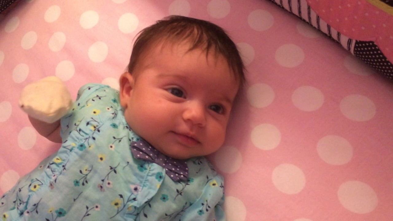 27d9b3d5d Liana   Cute 2 month old baby girl 3 Liana - YouTube