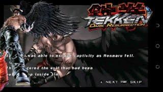 [TAS]tekken 5-dark resurrection full story battle as Devil Jin(1080p HD)