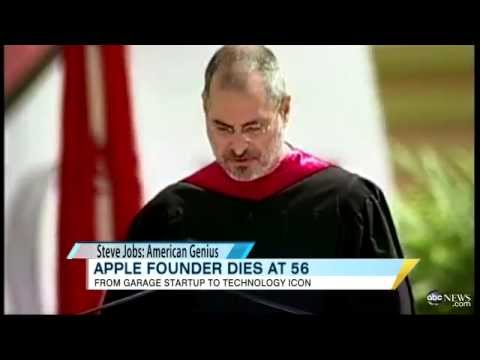 steve jobs speech example Amazing steve jobs speech at stanford with english subtitles  first i think that steve jobs is an example of feisty person because he never graduated from.