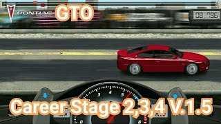 Drag Racing:tune car GTO for 3 Career Stage(Level 2,3,4) V.1.5