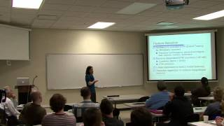 Engineering Science - March 14, 2013 - Dr. Suzzane Rivoire