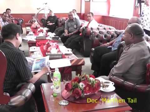 Gubernur Papua Bertemu dengan Menpora Mp3