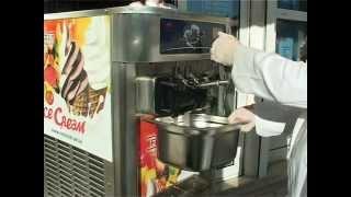 видео Оборудование для приготовления мягкого мороженного