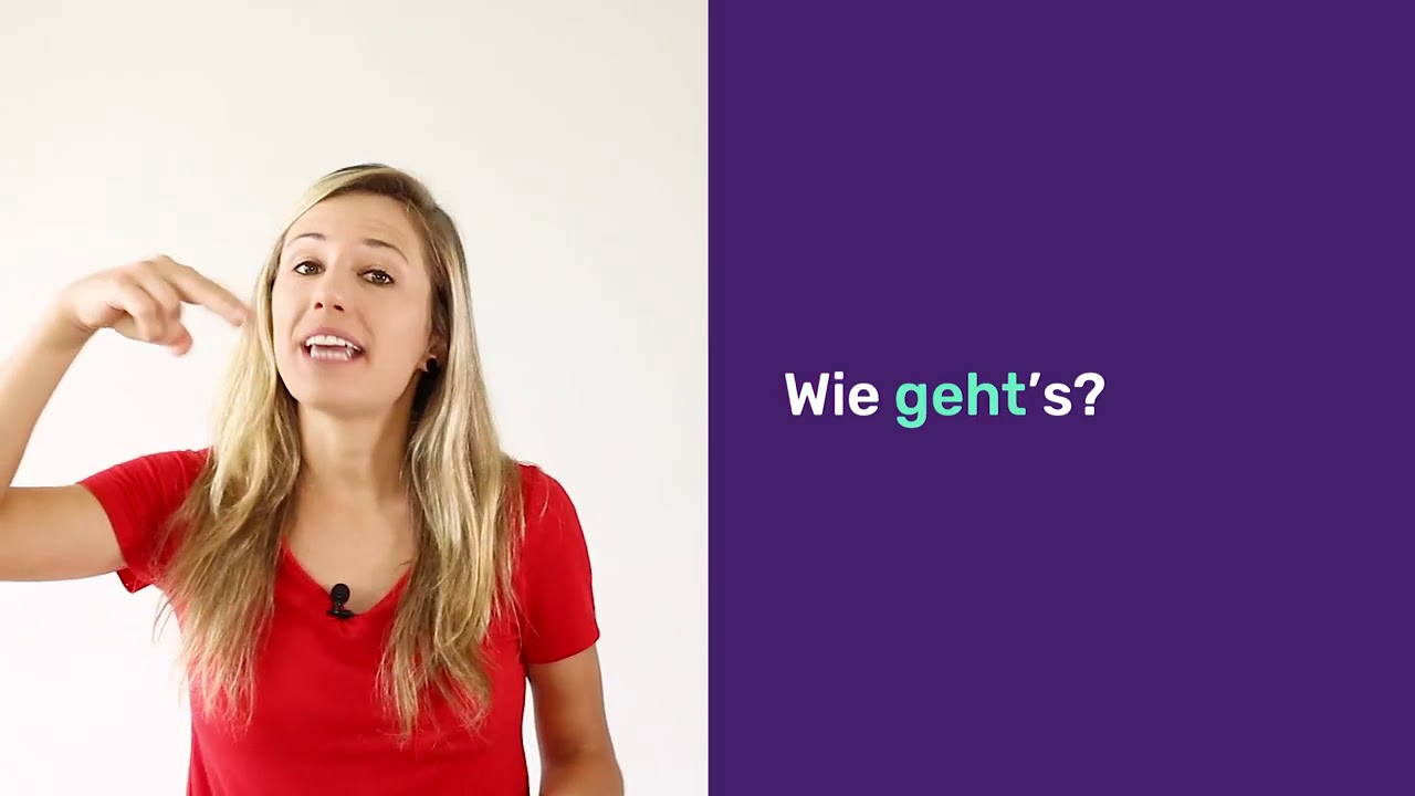 How to say how are you in German - Magiclingua