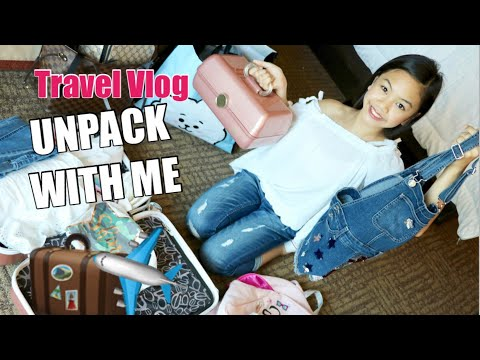 UNPACK WITH ME! TRAVEL VLOG- LIVE JUSTICE AWARDS!