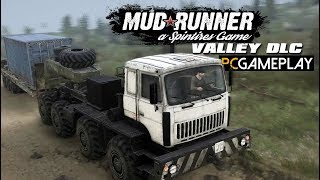 Spintires: MudRunner - The Valley Gameplay (PC HD)