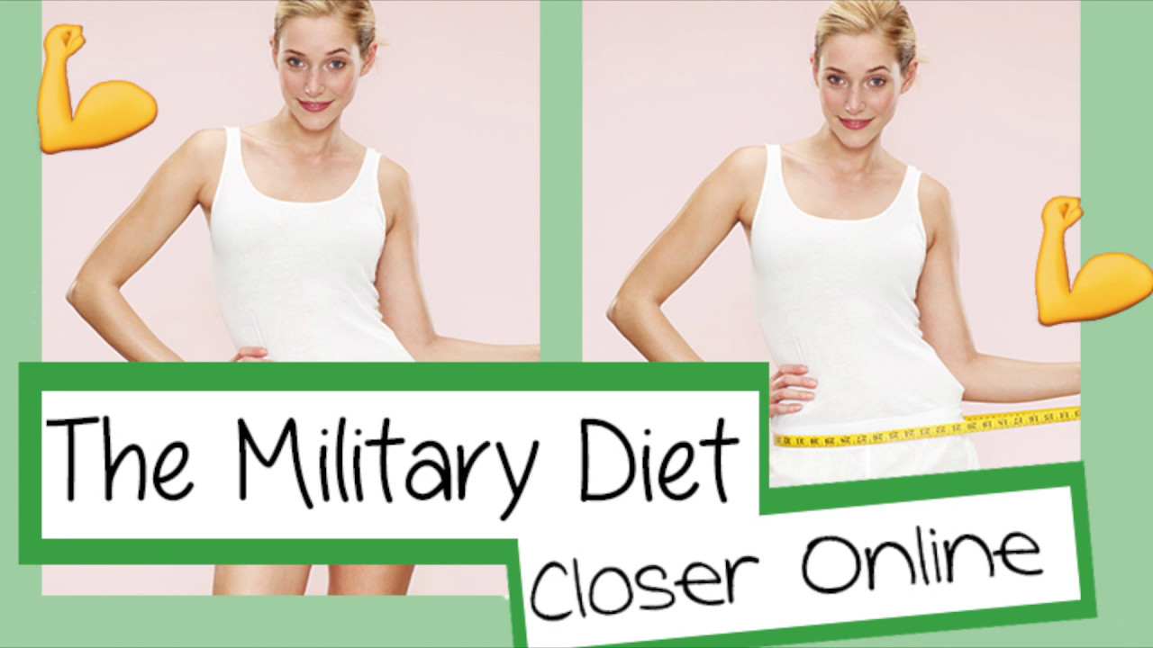 The Military Diet Your Shopping List And Recipe Plan Sorted