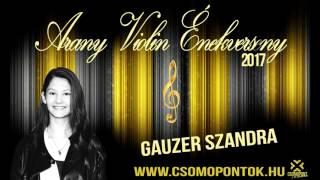 Csomópont Arany Violin Énekverseny 2017_Gauzer Szandra_Fame_A hírnév ára