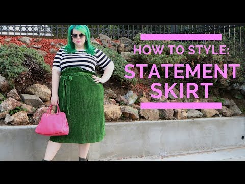 How to Style The Premme Paperbag Skirt | Plus Size Fashion Try On Haul