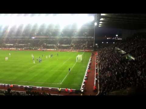 Incredible penalty miss (Stoke vs Chelsea) Jonathon Walters