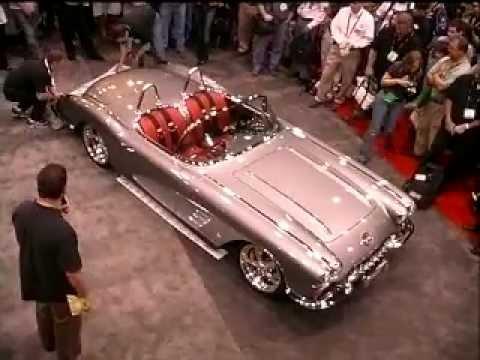 Art Morrison GT Corvette Wins The Sony Gran Turismo Award At SEMA 2006