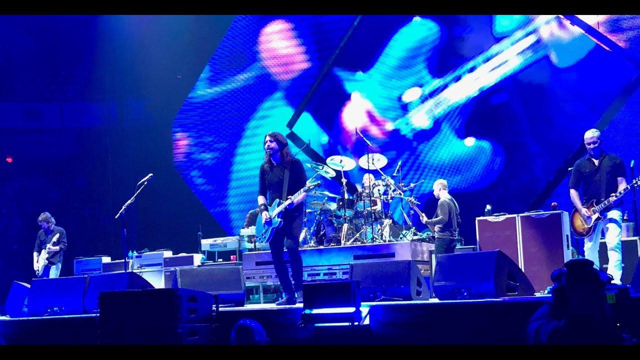 Foo Fighters Richmond Coliseum 10 14 2017 Concrete Gold Tour