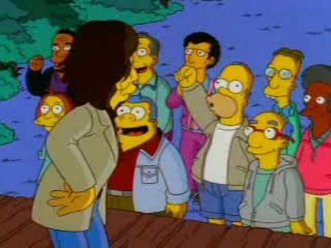 The Simpsons-Rolling Stones Camp