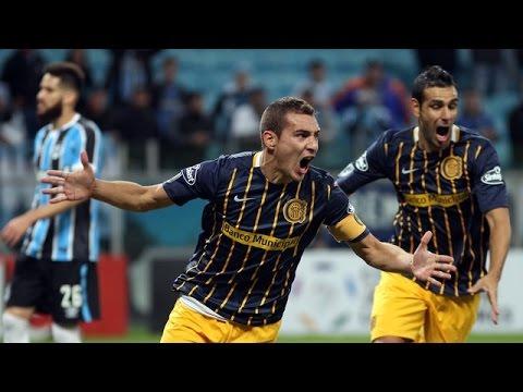 Grêmio 0 x 1 Rosário Central Gols - Copa Libertadores 27/04/16