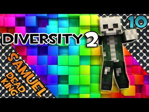 Minecraft: Прохождение Diversity 2 - (Битва с боссом) #10