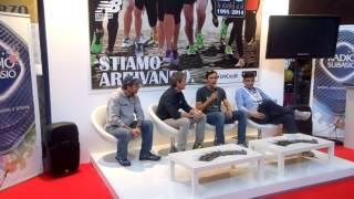 Presentazione Polar V800 con Giorgio Calcaterra, Daniel Fontana e Lino Garbellini