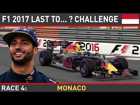F1 2016 - Last To... ? LIVE #4 - Monaco Grand Prix