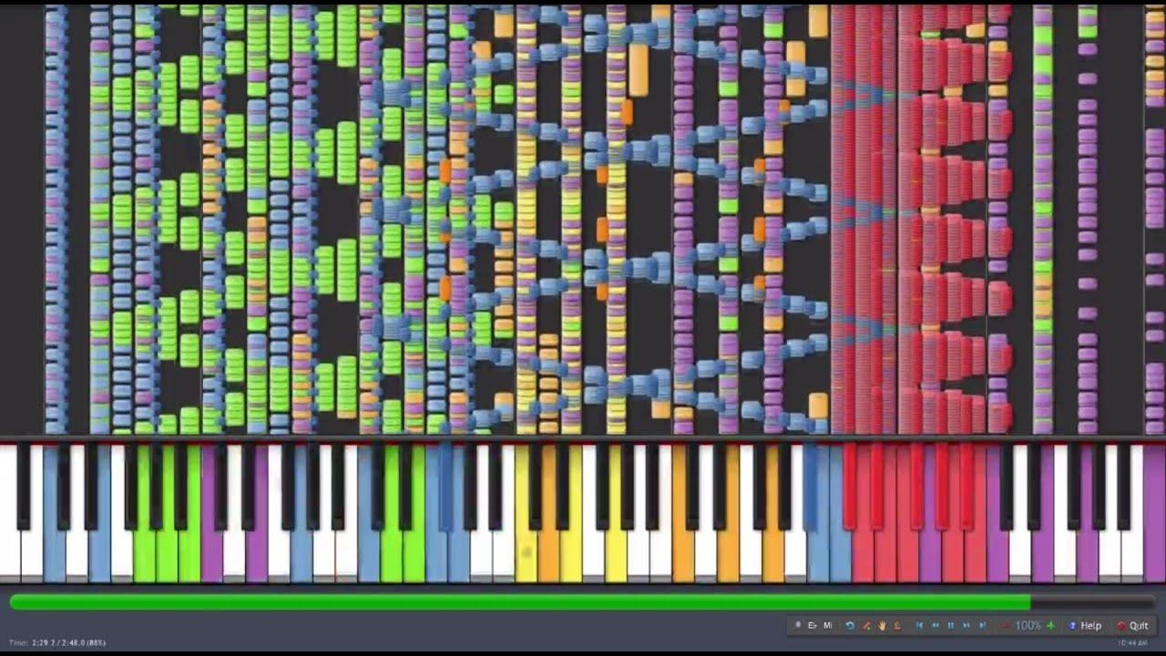 Black MIDI] NES Style Jingle B...