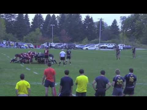 Michigan Rugby vs University of Illinois Highlights