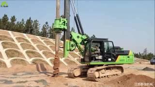 TYSIM KR90C Hydraulic Piling Rig in jiangxi