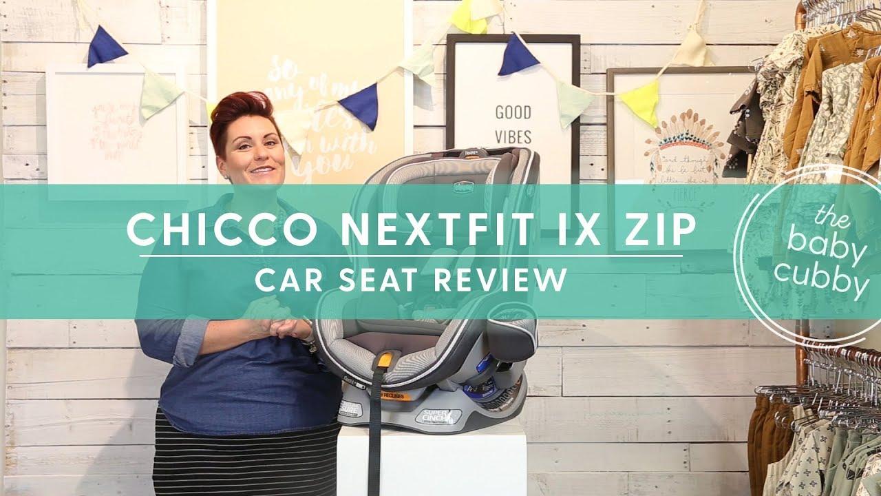 Nextfit IX Zip Convertible Car Seat Review