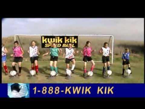 Kwik Kik Soccer Training Device