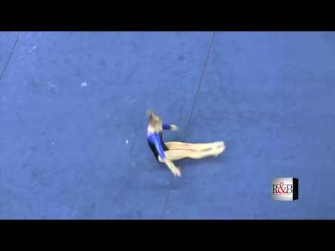 Amy Ferguson  Floor Exercise  vs UGA 2009 HD