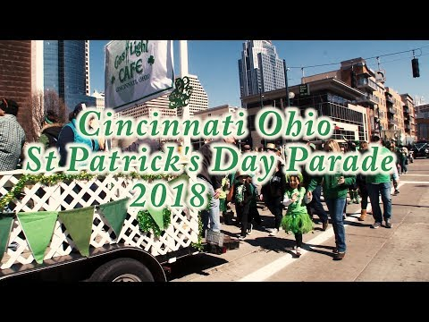 Cincinnati Ohio St Patrick's Day Parade 2018