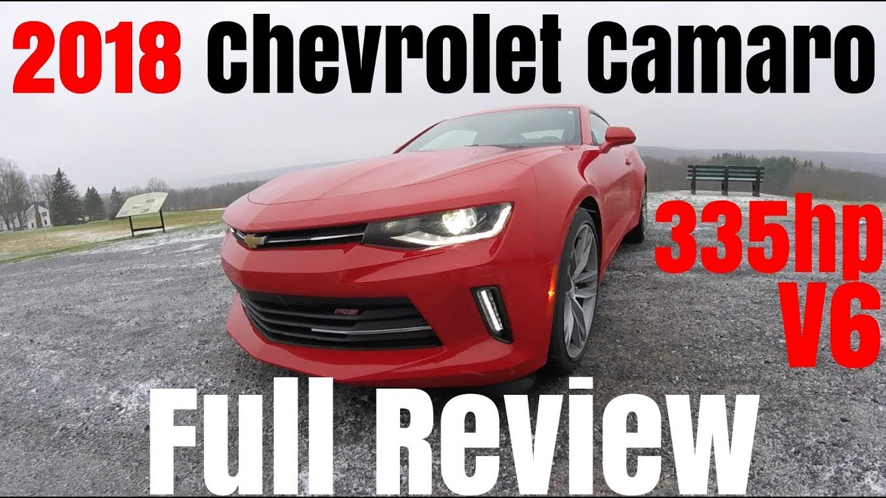 2018 Chevy Camaro V6 0 60 Review