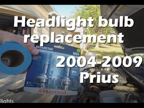 Replacing Headlight Bulbs On A 2007 Toyota Prius