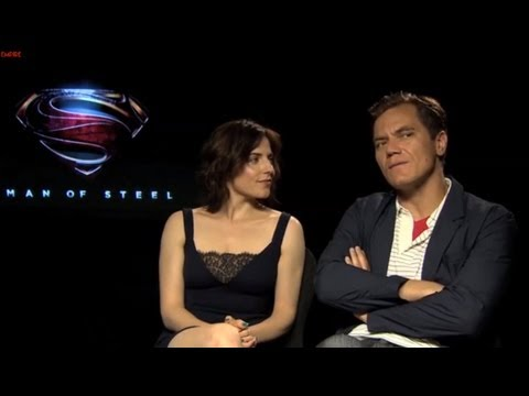 Michael Shannon And Antje Traue   Man Of Steel  Empire Magazine