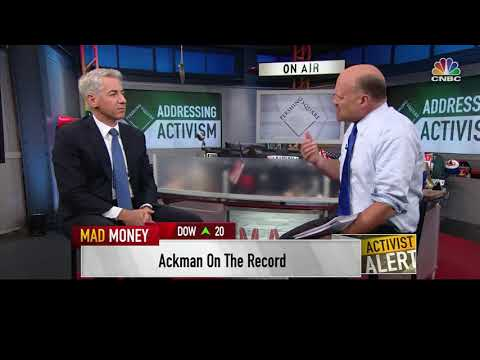 Bill Ackman on CNBC with Jim Cramer, October 4, 2017