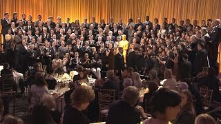 Oscar Nominees Gather For Annual Class Photo