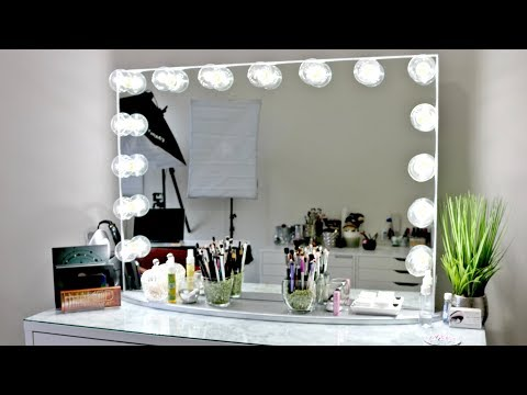 Impressions Hollywood Glow Pro Vanity Mirror | Unboxing & Set Up 2018