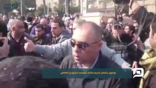 مصر العربية |  وصول جثمان كريم مختار لمسجد عمرو بن العاص