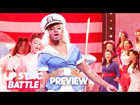 Taye Diggs Slays 'Candyman' in Front of Christina Aguilera  Lip Sync Battle P