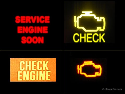 Que Significa La Luz del Check Engine ?