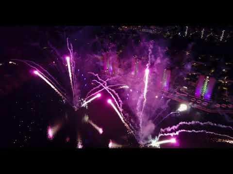 Thamesmead Festival 2017 Fireworks - Peabody - Mavic