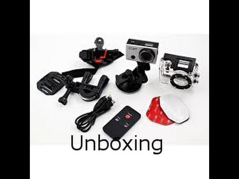 unboxing denver ac 5000w low budget action cam deutsch. Black Bedroom Furniture Sets. Home Design Ideas